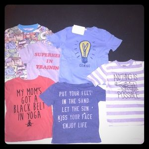Set of 6 Toddler Shirts